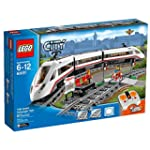 LEGO Trains High speed Passenger Building