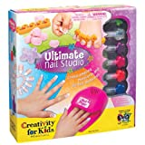 Girls ULTIMATE NAIL POLISH SET AND NAIL ART KITS! Girl's love this! Nail and Pedicure combo sets- BEST SELLER!...