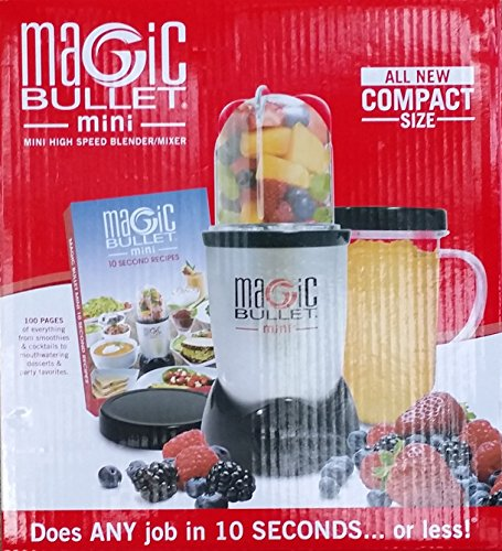 New Mini Magic Bullet High Speed Blender/Mixer Compact Small 6 Piece Set Smoothies As Seen On Tv front-287407