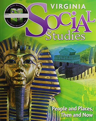 Houghton Mifflin Harcourt Social Studies Virginia: Student Edition Worktext 7-year Implementation Grade 2 People And Pla