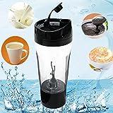 CAMTOA Mixer Bottiglia/Proteine Elettrico Shaker/Blender Bottiglia / Smart Mixer Cup-Movimento Automatico, Vortex,Leak-proof, 450ml, BPA Free, Staccabile per Succhi, Cocktail, Caffè, Tè, Proteine