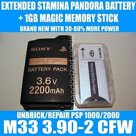 PSP Pandora Battery 1GB Sony Magic Memory Stick