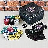 DC Comics Batman Oficial El Joker Poker Set Joker con estilos de juegos de regalo de estaño