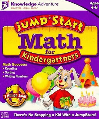 JumpStart Math Kindergarten