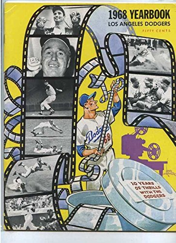 1968 Los Angeles Dodgers Yearbook MBX25