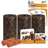 Blackroll Orange (Das Original) - DIE Selbstmassagerolle - Pilates-Set inkl. Übungs-DVD, -Booklet & Übungsposter