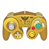 HORI Battle Pad for Wii U (Link Version) with Turbo - Nintendo Wii U (Color: Yellow)
