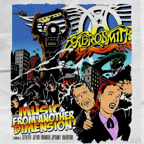 Music from Another Dimension! (Deluxe 2 CD + DVD) by Aerosmith (2012-11-06)