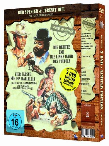 Bud Spencer & Terence Hill: Vier Fäuste für die Ewigkeit (3 DVD Limited Edition)