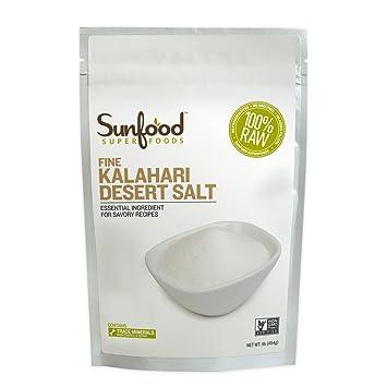 Отзывы SunFood Kalahari Desert Salt -- 1 lb
