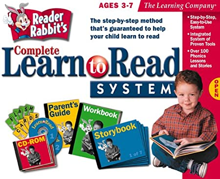 Reader Rabbit's Complete Learn to Read System