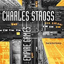 Empire Games Audiobook by Charles Stross Narrated by Kate Reading