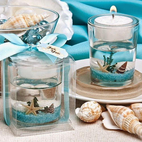 20 Stunning Beach-Themed Candle Favor