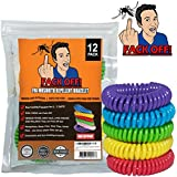 Fack Off! Insect Repellent, Stretchable Band (12 Pack) - Funny Gifts