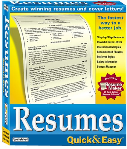 Resumes Quick & Easy 6.0