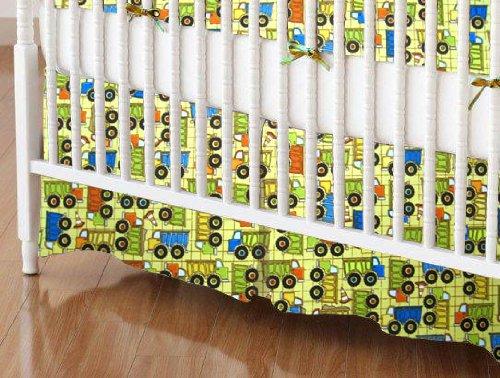 Truck Crib Bedding 179587 front