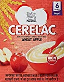#5: Nestlé CERELAC Infant Cereal Stage-1 (6 Months-24 Months) Wheat Apple 300g