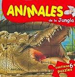 Animales de La Jungla - Contiene 6 Puzzles (Spanish Edition)