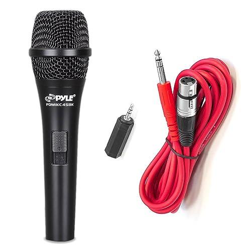 Micrófono de condensador Pyle PMIKC45BK Cardioide