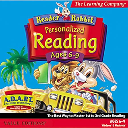 Reader Rabbit Reading Ages 6-9 (Jewel Case)