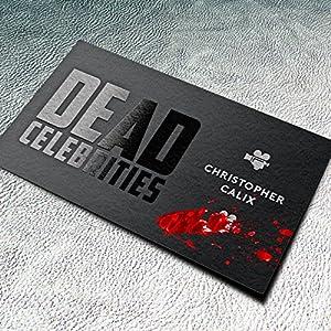 Dead Celebrities Audiobook