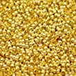 HOUSWEETY 500PCs Crimp Beads Gold Plated 2mm