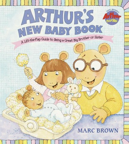 Arthur'S New Baby Book (Great Big Board Book) front-886291