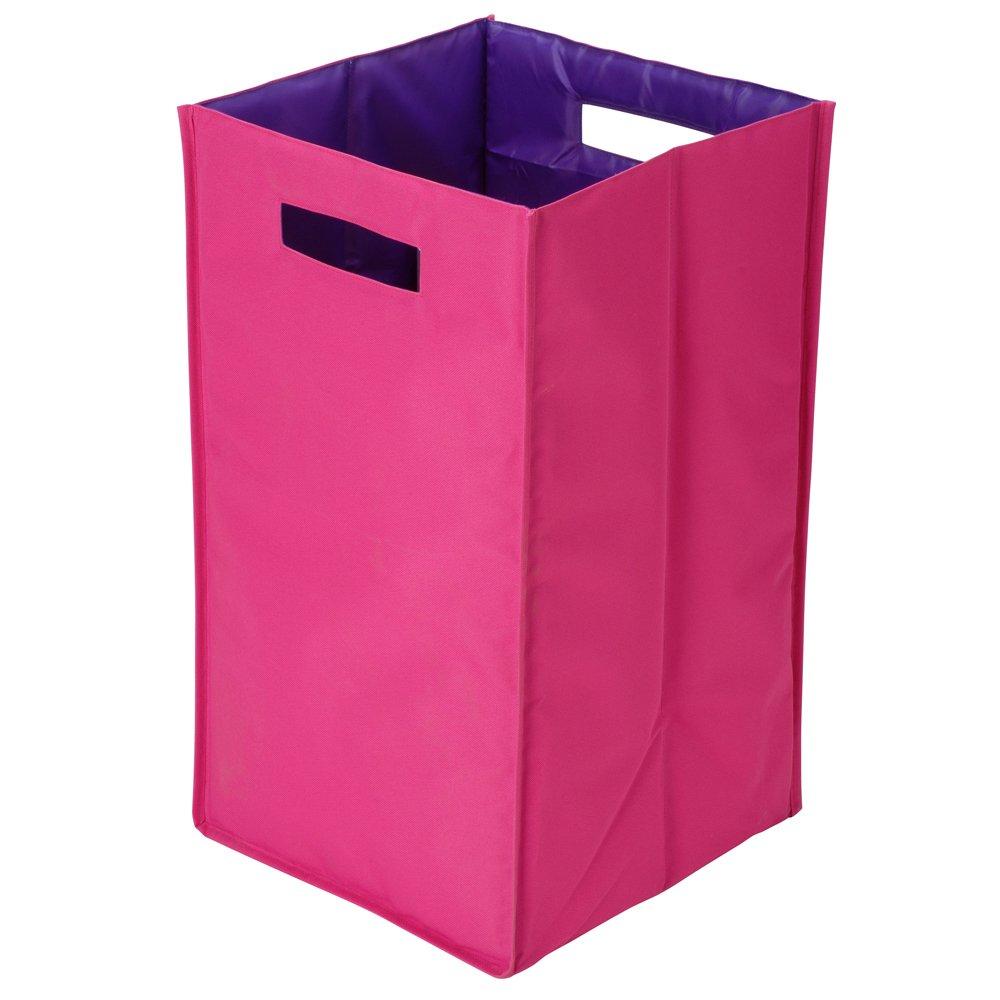 Bicolor rosa Wäschekorb, rosa, 30 x 30 x 57 cm jetzt bestellen