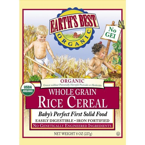 Earth's Best Rice Cereal - 8 oz