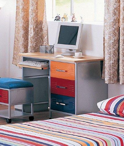 Buy Low Price Comfortable Multicolor Metal Computer Desk (B000NICIV8)
