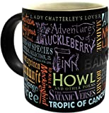 Banned Book Coffee Mug - The Best Books that Were Thought To Be Too Scandelous or Subversive To Read - Comes In a Fun Gift Box - by The Unemployed Philosophers Guild