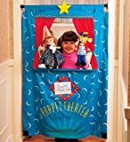 Durable Cotton Twill Doorway Puppet Theater