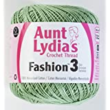 Coats Crochet Fashion Crochet Thread, 3, Sage