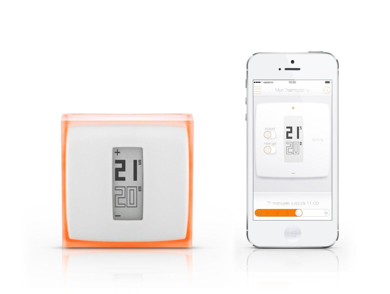 Termostato inalámbrico para calefacción control desde móvil