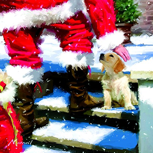 Christmas Greeting 500 Pc Jigsaw Puzzle by Sunsout