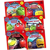 Chuggington Children's 6 Books Collection Pack Set RRP: �23.94 (Storybook: Brewster Goes Bananas, Koko and the Tunnel, Wake Up Wilson , Clunky Wilson, Braking Brewster)by Chuggington