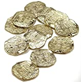 Gold Doubloons Plastic Pirate Costume Booty 22330