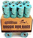 120 Large Earth-friendly Dog Poop Bags - Strong Leak-proof Design Helps You Avoid Messy Blowouts - Money Back Guarantee