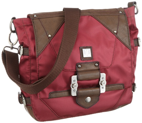 JETTE CHARADE Shoulder Bag Womens Red Rosa (berry 190) Size: 28x28x7 cm (B x H x T)
