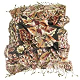 Stylish Floral Pashmina Scarf for Women - Perfect for ladies and girls of all ages
