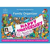 Family Organizer And Calender - More Time Moms 2014 Calender - Award Winning Deluxe Organizer and Wall Calender
