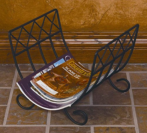 J&J Wire Wood/Magazine Rack