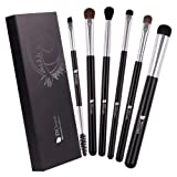 DUcare 6Pcs Eye Brushes Eyeshadow Brush Set Blending Brushes Eyeliner Brush Eye Makeup Brushes Set (Color: Eye bruhses set)