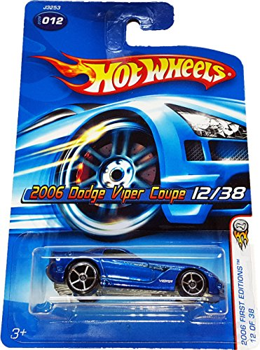 Hot Wheels 2006-012 Dodge Viper Coupe 12/38 First Edition 1:64 Scale - 1