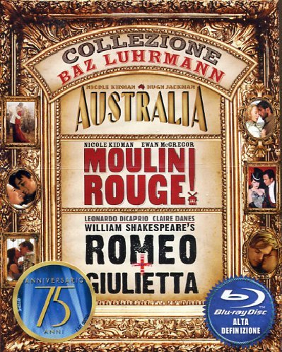 Collezione Baz Luhrmann: Australia / Moulin Rouge / Romeo + Giulietta [Blu-ray] [IT Import]