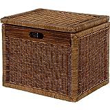 kasten aufbewahrung korb mit deckel seegrass xxl. Black Bedroom Furniture Sets. Home Design Ideas