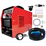 LYYNTTK 50Amp Plasma Cutter Dual Voltage 110V 220V Portable Plasma Welder Plasma Cutting Machine Cut50 Inverter Digital Plasma Welding Machine(50 Amp 110V 220V)