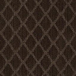 12\'x20\' Sonora Dark Coffee | Loop and Cut Pile Diamond Pattern Area Rug