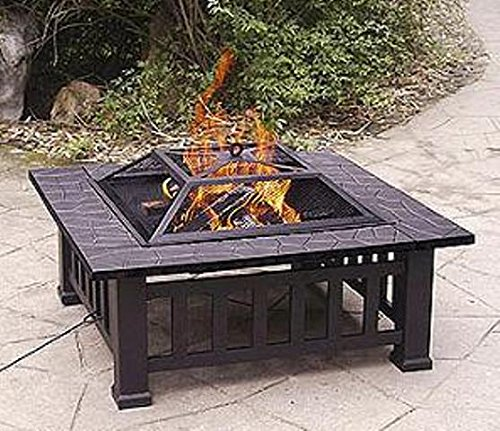 Axxon 32 inch Alhambra Fire Pit with Cover