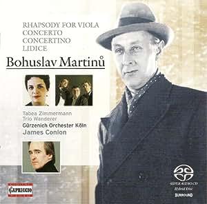 Martinu B.: Concertino for Pi